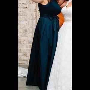 Ralph Lauren Taffeta Wrap Dress